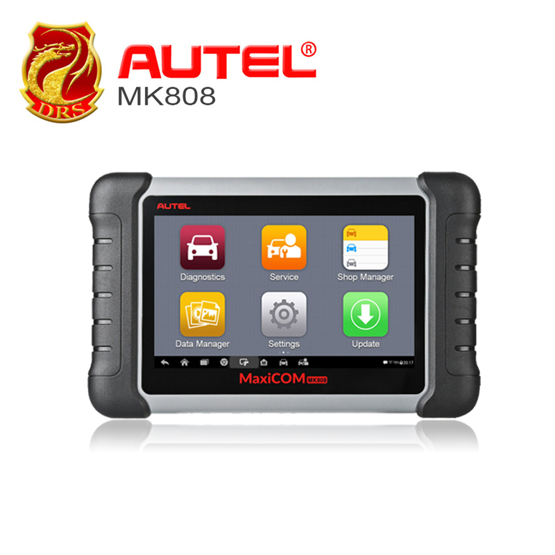 Autel MaxiCOM MK808 MX808 OBD OBDII Diagnostic Tool Key Programmer OBD2 Scanner Auto Code Reader Automotive Tools Tester For Car