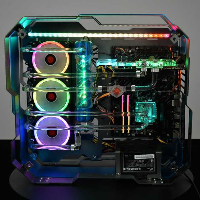 SYSCOOLING Gaming Computer Water Cooling Kit DIY Parts