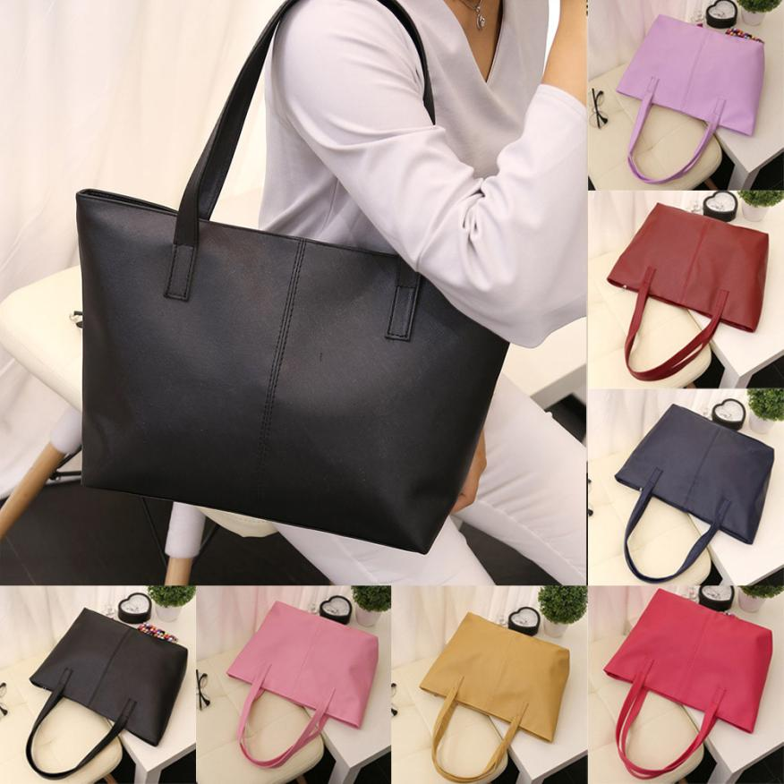 Women Ladies Leather Shoulder Bag Handbag Tote Bag Celebrity Tote Purse  Travel Bag Large Wholesale Drop Shipping  T-in Shoulder Bags from Luggage    Bags on ... 46d3f8d079