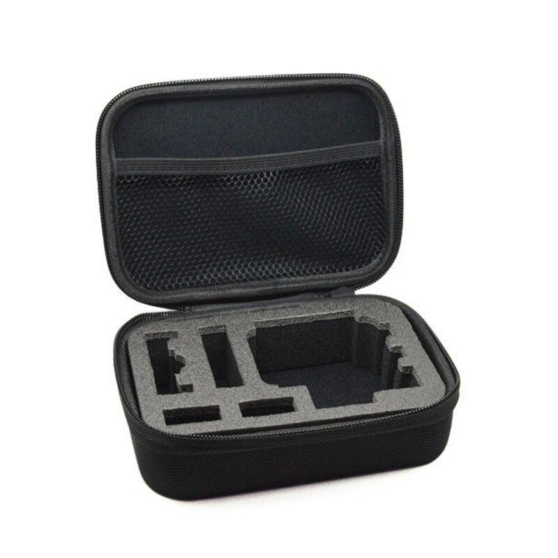 Para GoPro accesorios al aire libre EVA caja de recogida SJCAM SJ4000 sj5000 sj5000x SJ6 SJ7 EKEN H9 H9R yi Cámara de Acción