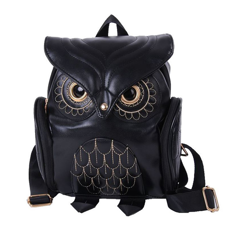 Fashion Cute Women Cartoon School Bags For Teenagers Girls PU Leather Women Backpack WML99