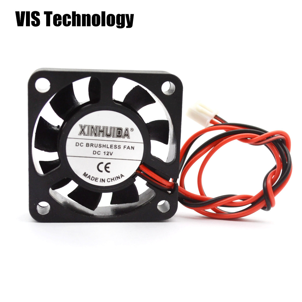 Extruder Brushless Cooling Fan 24V 2 Pin for computer case 3d Printer Humidifier