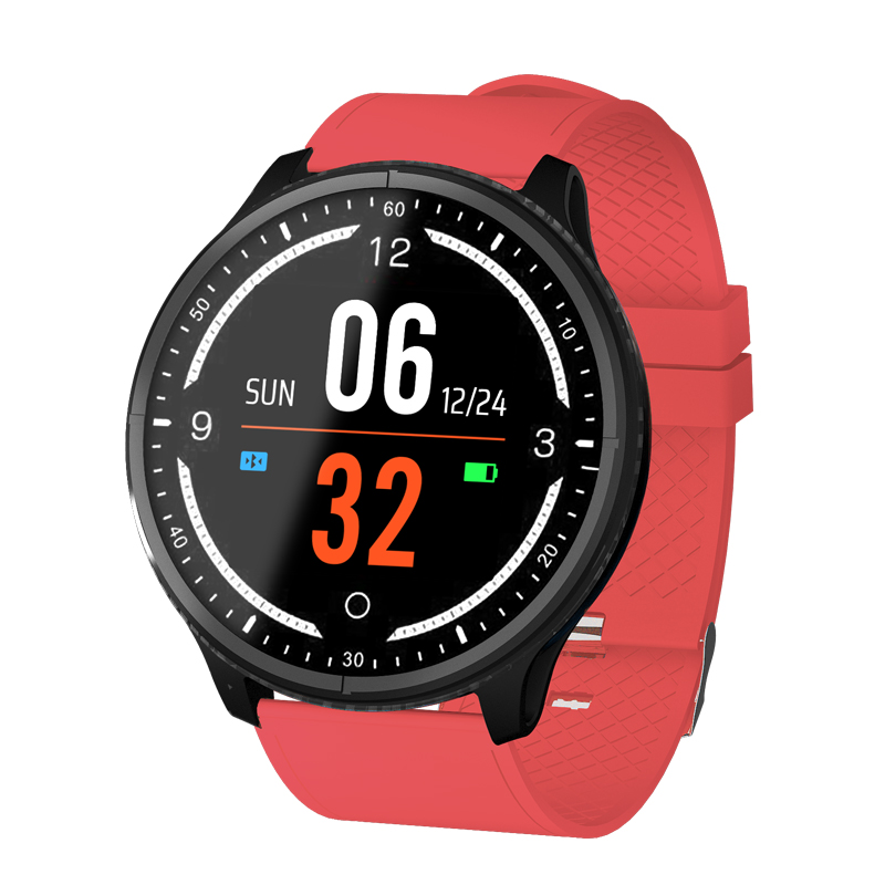 Digital Watches Support Call Gps Smartwatch Exercise Sports 1.3 Inch Screen Round Dial Blood Pressure Sleep Tracker Heart Rate Camera Bluetooth Selected Material Watches