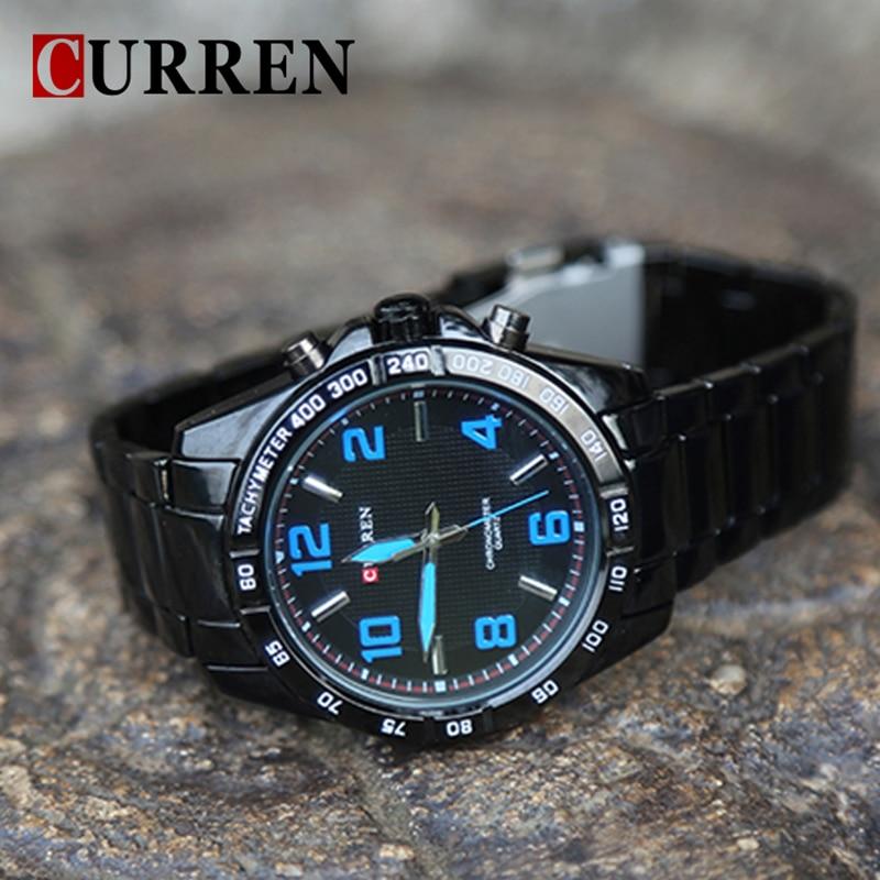 CURREN Heren Horloges Topmerk Luxe Militaire Horloges Staal Heren - Herenhorloges - Foto 5