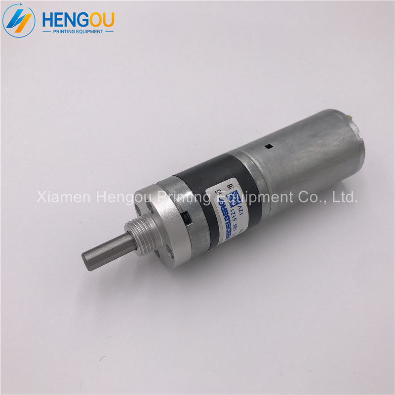 1 piece free shipping Heidelberg Geared motor 71.186.5121 for SM102 CD102 printing machine dc 24v 70rpm gearbox motor for vending machine rectangle geared motor free shipping