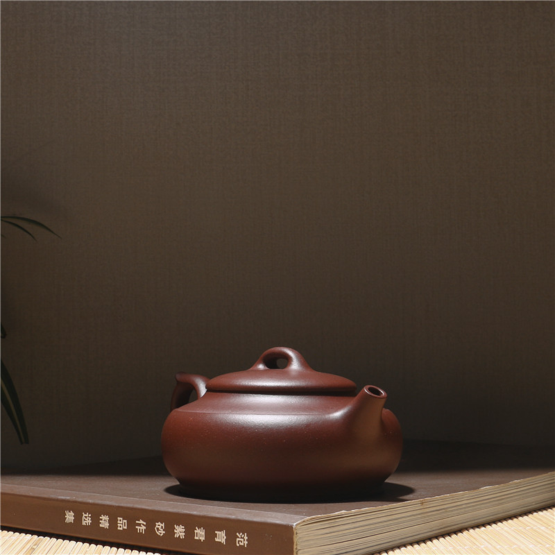 230 ml Fabrik Direkt Chinesischen Kung Fu Zisha Teekanne Echtes Yixing Lila Ton teekanne Geschenk Box Paket Verschiffen Frei - 4