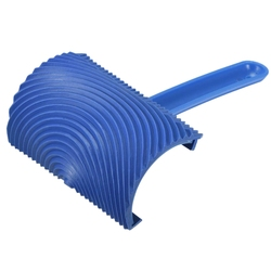 Ms18A 15Cm X 10Cm z drewna gumowego wzór ziarna obraz ścienny dekoracji Diy narzędzie niebieski ziarna narzędzie do malowania na ścianie Decorati|Zestaw narzędzi do malowania|Narzędzia -