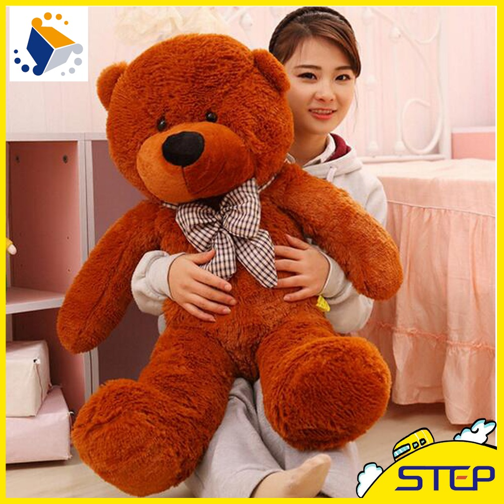 100cm giant teddy bear plush toys stuffed ted cheap pirce gifts for kids girlfriends christmas. Black Bedroom Furniture Sets. Home Design Ideas
