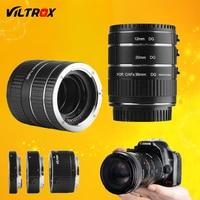 Viltrox DG-C Metal Mount Auto Focus AF Macro Extension Tube Lens Adapter for Canon EOS 750D 700D 800D 77D 60D 5D II IV 7D II 80D