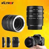 Viltrox DG-C montaje de Metal Auto Focus AF Macro extensión tubo adaptador de lente para Canon EOS 750D 700D 800D 77D 60D 5D II IV 7D II 80D