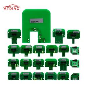 Image 1 - BDM Probe Adapters Full Set Car Diagnostic tool 22pcs BDM adapters For KTAG KESS KTM Dimsport LED BDM Frame ECU RAMP Adapters