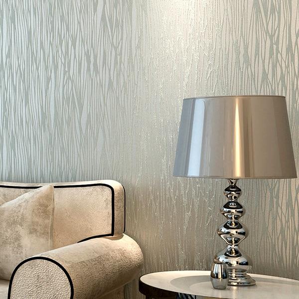 Estilos listras moderno 3d papel de parede sala quarto - Papel de pared moderno ...