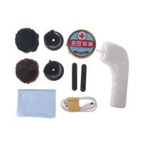 EYKOSI Handheld USB Charging Interface Automatic Electric Shoe Brush Shine Polisher