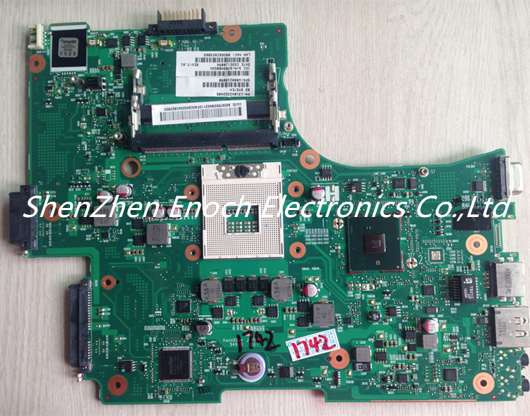 V000218090 for Toshiba satellite L650 L655 series motherboard 6050A2332402-MB-A02-T1 No HDMI stock No.395