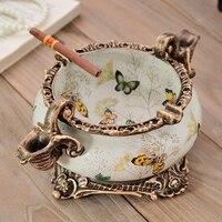 European ashtray auspicious decoration decoration water elephant boyfriend gift American Pastoral ashtray
