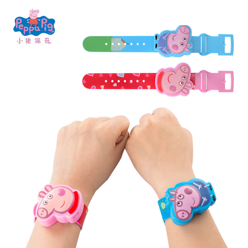 Original New Peppa Pig George Watch Band Model Doll Action Figure With Milk Candy Birthday Gift Girl Children Toy electric egg washing machine chicken duck goose egg washer egg cleaner wash machine poultry farm equipment 2400 pcs h