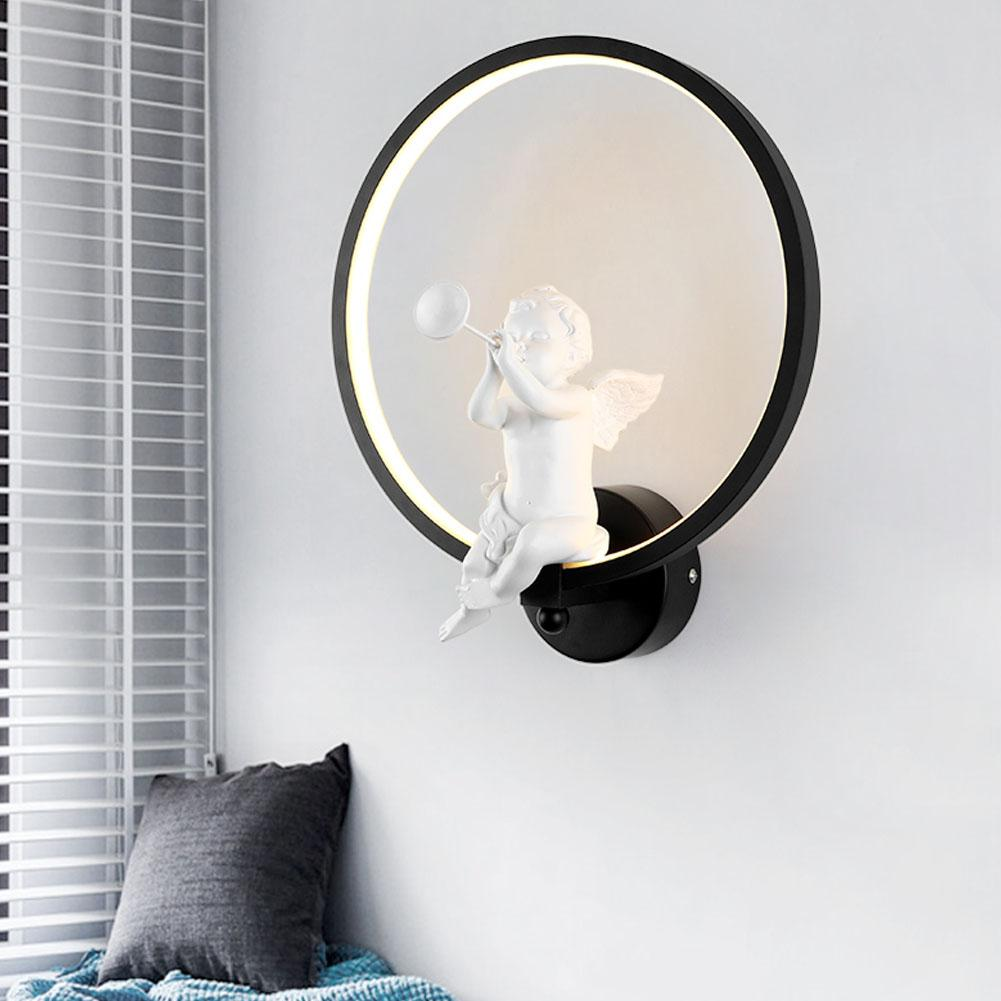 LED Wall Lamp Cartoon Bird Angel Bedside Wall Light Nordic Style Staircase Aisle Cafe Bedroom Living Room Wall LightLED Wall Lamp Cartoon Bird Angel Bedside Wall Light Nordic Style Staircase Aisle Cafe Bedroom Living Room Wall Light