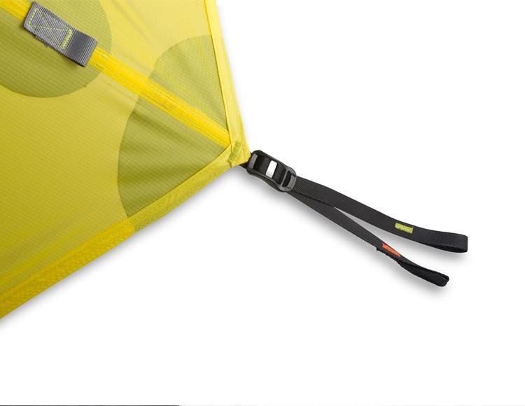 FLAME S CREED 2 3Person Pyramid Camping Tent 15D Silnylon Coating 3 Season Seam Sealed No