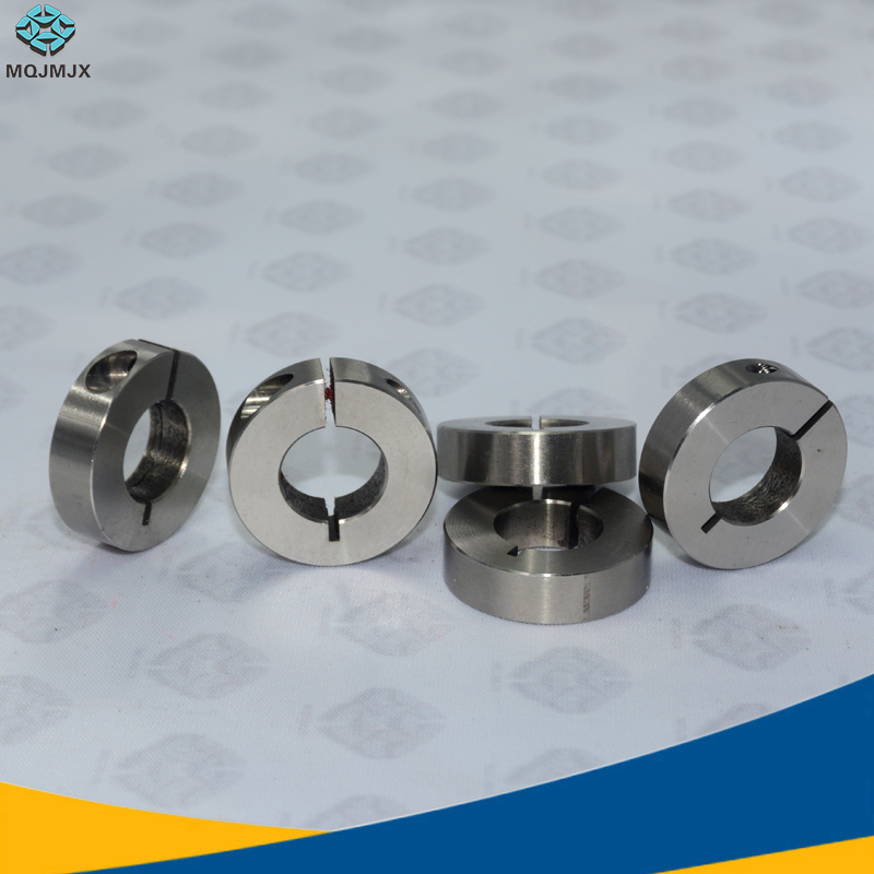 Hardware 1pc Retail Steel Dowel Ring Spacing Positioner Fasteners Limiting Ring Stiffened Deep Ring Clamping Sleeve Clamp Shaft Lock