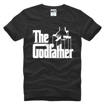 Модные футболки для крестного отца, Мужская футболка с буквенным принтом, повседневные хлопковые футболки с коротким рукавом для отца, бесплатная доставка