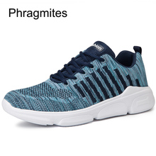 Phragmites Flyknit Breathable Casual Shoes Sweat-Absorbant Summer Sneakers Fashion Zapatillas Mujer Comfortable Men Shoes цена