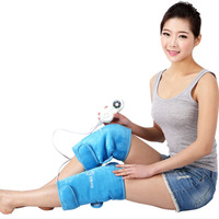 1 Pair Electric Heating Knee Pads Far Infrared Magnetic Therapy Arthritis Rheumatism 220V 30W Adjustable Temperature Health Care
