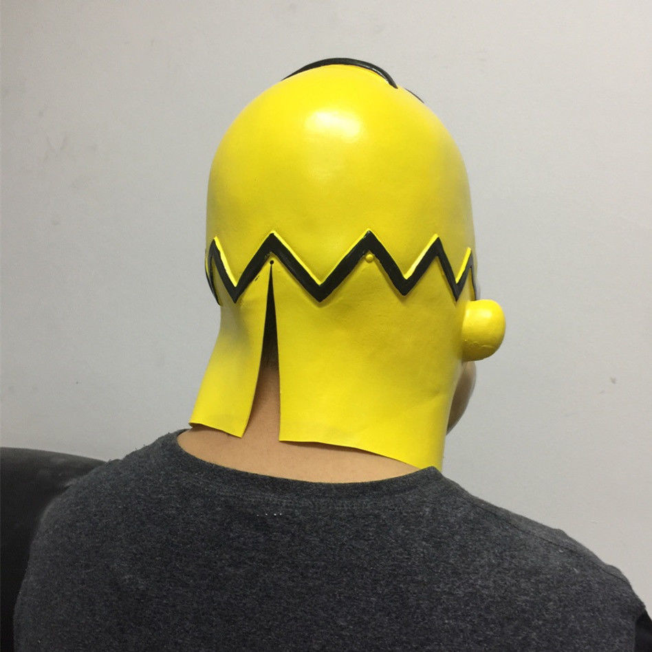 Bart Fasching Us 32 5 New Bart Simpson Latex Maske Simpsons Karneval Fasching Fancy Dress Adult Mask High Quality Style Fashing New Arrival In Boys Costume