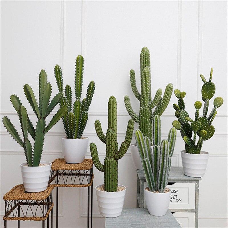 Cactus artificiel jardin plante jardin Simulation bureau décoration vacances cadeau maison décoration