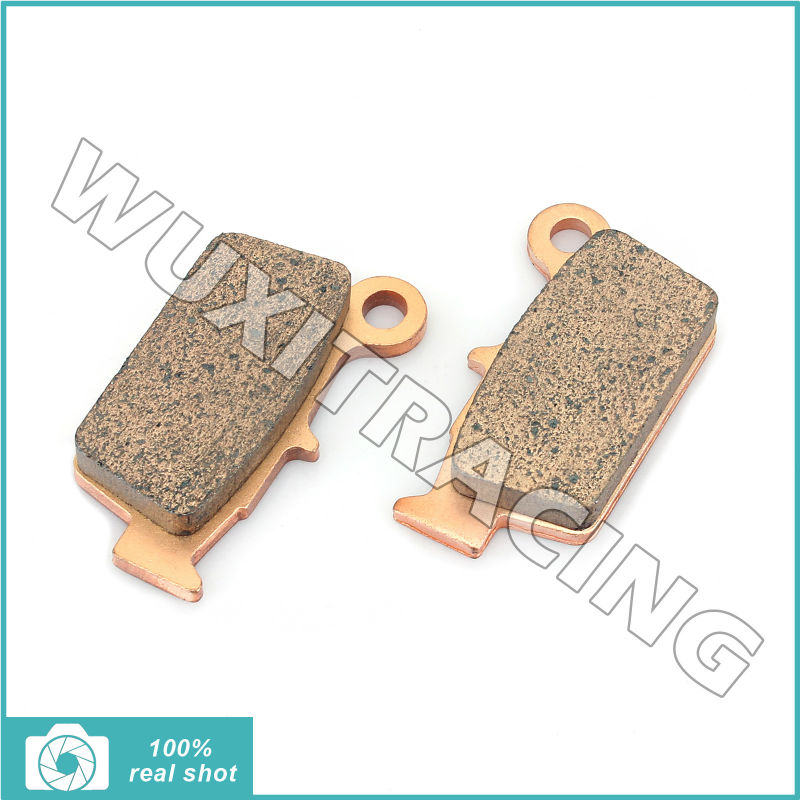 2003 2004 2005 2006 2007 2008 2009 2010 2011 2pcs Sintered Rear Brake Pads for YAMAHA YZ 125 YZ 250 YZ 450 03-11 WR 250 WR 450 sintered brake pad set for honda 1000 xl a4 va4 9 varadero xl1000 2004 2005 2006 2007 2008 2009 2010 2011