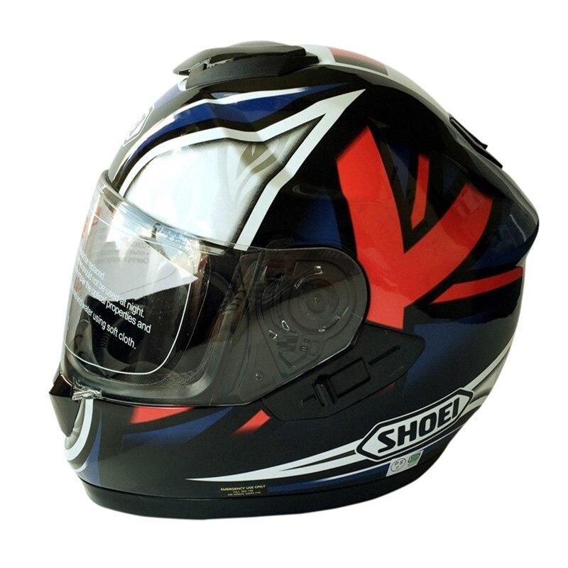 2017 shoei brand gt air double lens motorcycle full face helmet japan approval motor street. Black Bedroom Furniture Sets. Home Design Ideas