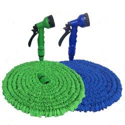 15-30 m expansível jardim magia mangueira telescópica irrigação de água da tubulação de rega spray lavagem de carro ferramentas de limpeza de pistola de pressão de plástico