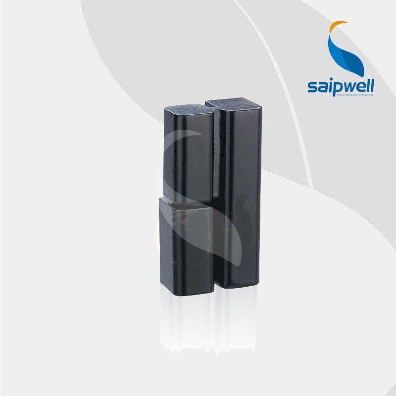 acier noir 110 Degré plaqué Simplex Verre 40X20mm 1 paire Verre charnière de porte