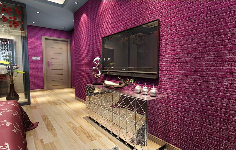 HTB1o2zLOVXXXXcWXXXXq6xXFXXXy - DIY Self Adhesive 3D Wall Stickers Bedroom Decor Foam Brick Room Decor Wallpaper Wall Decor Living Wall Sticker For Kids Room