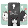 3D Soft Silicone Cat Case For Meizu MX4  / MX4 Pro / MX5 / MX6 / Pro 6 Fanny Cartoon Animals TPU Cover For Meizu Meilan Metal 2