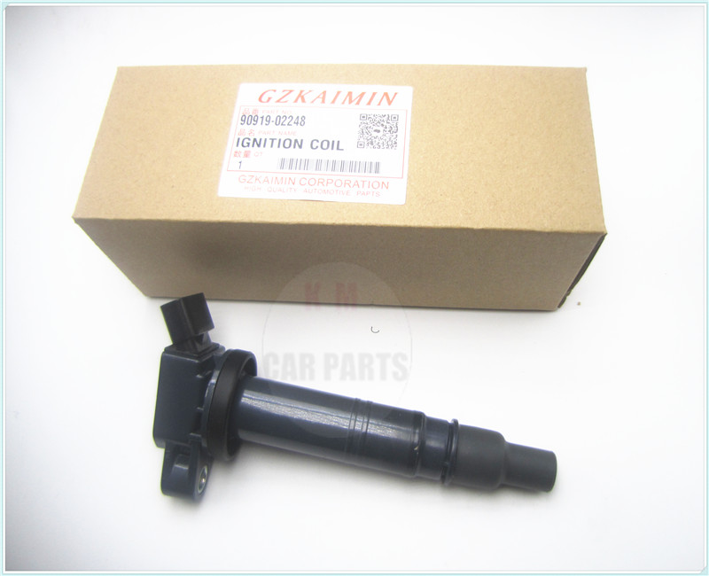top IGNITION COIL PACK FOR 90919-02248 <font><b>9091902248</b></font> FOR Toyota Camry Tacoma Tundra 4Runner image
