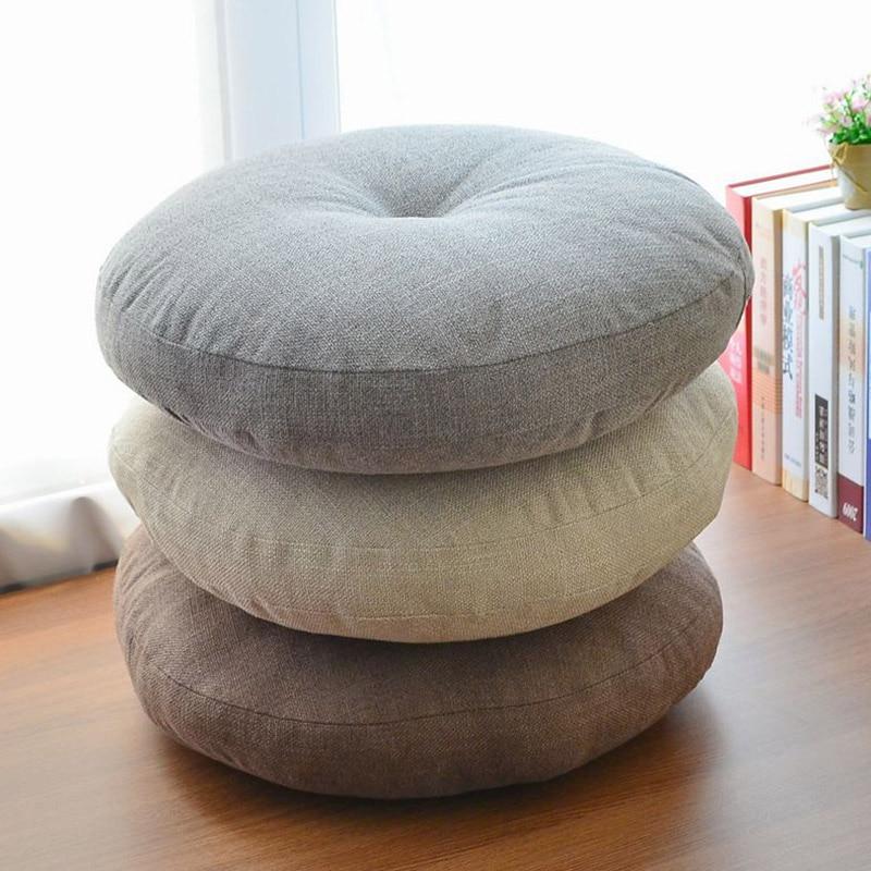 Μαλακή καμβά στρογγυλή καρέκλα - Αρχική υφάσματα - Φωτογραφία 2