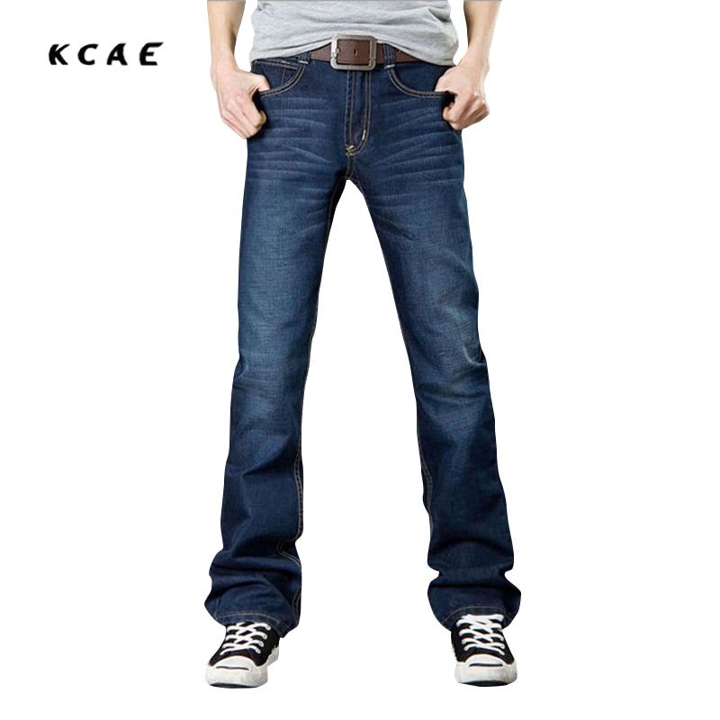2017 New Mens Flared Jeans Boot Cut Leg Flared Slim Fit Mid Waist Male Designer Classic Denim Jeans Pants Bell Bottom Jeans Size charter club new beige women s size 10 front tab modern fit slim leg pants $69