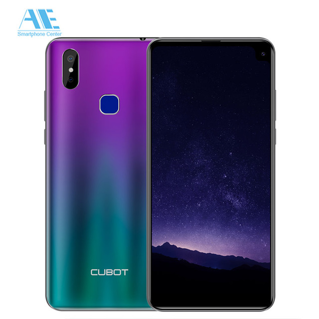 Cubot Max 2 6.8 Inch HD 19:9 4GB 64GB MT6762 Octa Core Smartphone Android 9.0 5000mAh Dual Rear Cameras 6P Lens 4G LTE Cellphone