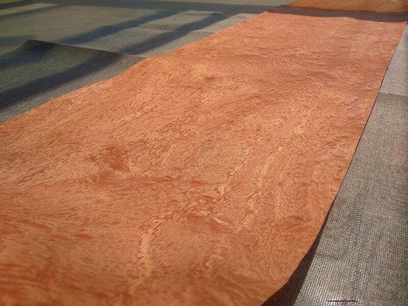 Natural Veneer Wood Veneer Sliced Veneer Sapele Pomelle SP Furniture Veneer 38cm X 2.5 Meters