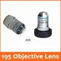 40X 195 Профессиональный образовательный ПЛАН Ахроматический био-Микроскоп объектив диаметр резьбы 20.2MMx0. 705 для медицинской науки