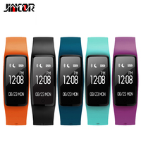 JINCOR Smart Bracelet Wristband S1 Fitness Tracker Bracelet Smartband Heart Rate Monitor Multiple Motion Model Mobile