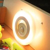 Motion Light Sensor LED Night Light Energy Saving Light Control Automatic Wall Lamp LED Night Lamp