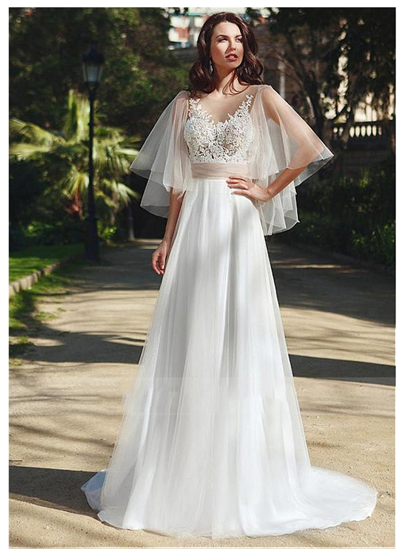 SoDgine Princess Wedding Dress 2019 Fairy Vestido De Noiva  Strapless Bride Gowns Floor Length Wedding Gown