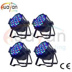 Оптовая продажа-4X много CE утвержденный RGBW 54*3 Вт светодиодный Par свет, пятно света Освещение сцены DJ DMX512 Свадебные Indoor