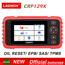 Launch CRP129X OBD2 Diagnostic Tool PK CRP129 4 System Scanner Oil Reset/ EPB/SAS/TPMS /Throttle Service/ AutoVIN