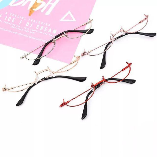 Two-dimensional irmã macio não-lente Armações de Óculos meia-armação óculos de multi-seleção de cor
