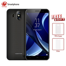 HOMTOM S16 5.5Inch 18:9 Edge-Less Display Android7.0 Smartphone 3000mAh 2GB RAM 16GB MT6580 Quad Core 13MP Fingerprint Cellphone(China)