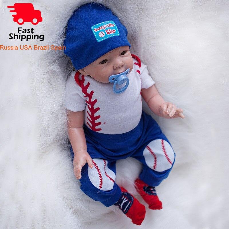 Otardpoupées 22 pouces bebe Reborn poupées 55 cm silicone souple reborn bébé poupée réaliste réaliste réaliste boneca jouets pour fille cadeau d'anniversaire