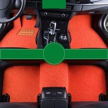 цена на Wire Loop Carpets Waterproof Non Slip Durale Custom Car Floor Mats For VOLVO S40 S80L XC60 S60L S90 XC90 S60 V90 S80 C30 S40