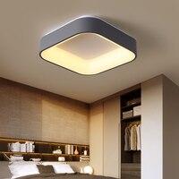 Современный минимализм светодиодный потолочный светильник квадратный закрытый потолочный светильник креативная личность исследование с